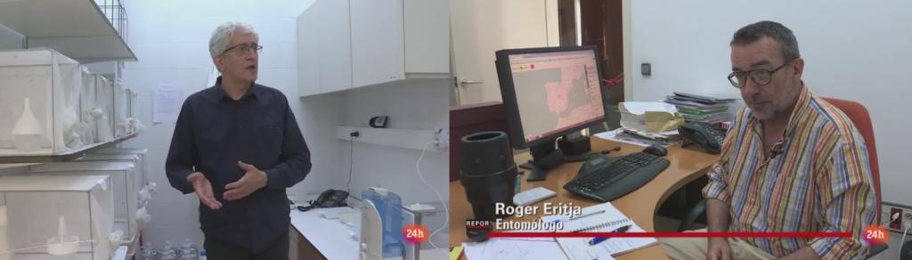 Carles Aranda y Roger Eritja. Servei de Control de Mosquits del Baix Llobregat.
