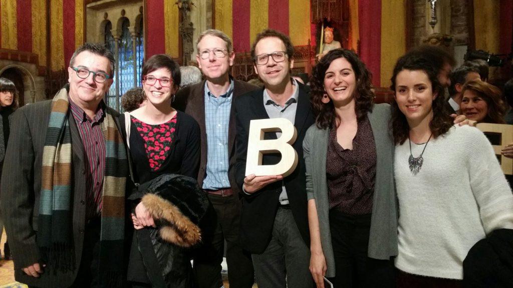 Roger Eritja, Anna Ramon, John Palmer, Frederic Bartumeus, Aitana Oltra y Marina Torres.