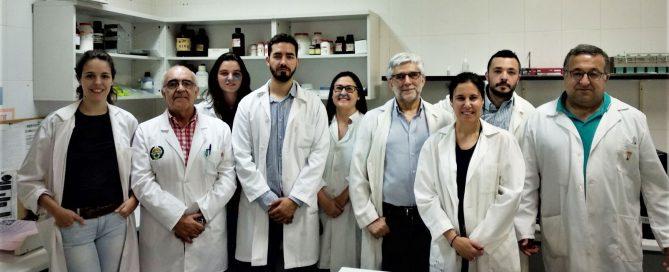 Equipo de Parasitología de la UEX.