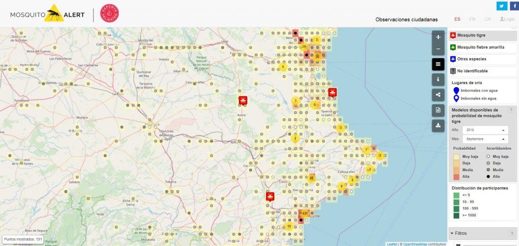 Nou mapa amb el model integrat.