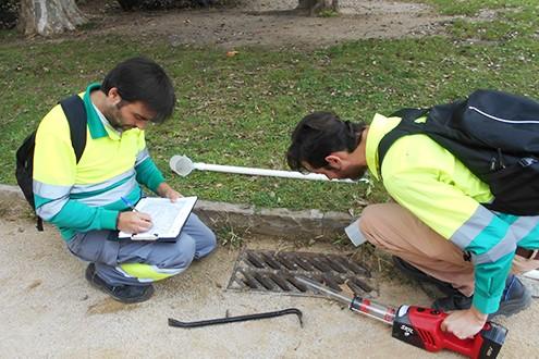 Tècnics de l'ASPB. Foto: ASPB