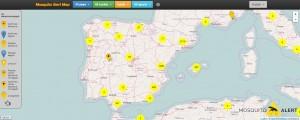 Mosquito Alert Map