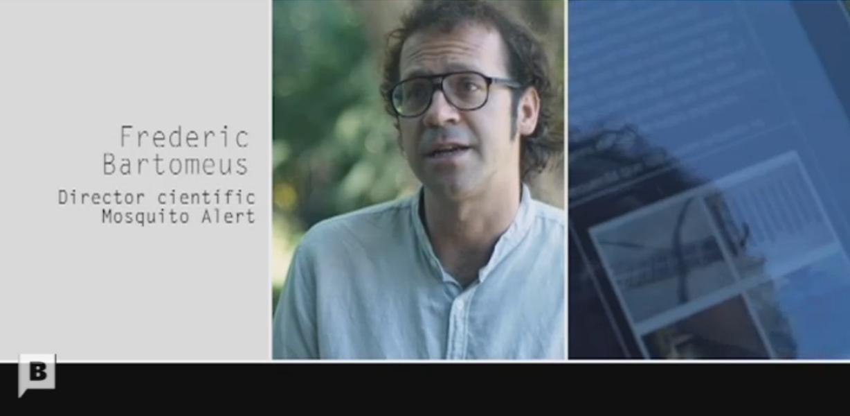 Frederic Bartumeus, director de Mosquito Alert.